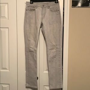 Levi Strauss Slim Straight Jean (Grey)
